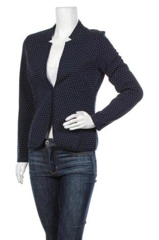 Γυναικείο σακάκι Tom Tailor, Μέγεθος M, Χρώμα Μπλέ, 71% βαμβάκι, 28% πολυεστέρας, 1% βισκόζη, Τιμή 25,65€