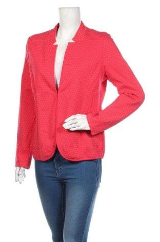 Γυναικείο σακάκι Tom Tailor, Μέγεθος XL, Χρώμα Κόκκινο, 71% βαμβάκι, 28% πολυεστέρας, 1% βισκόζη, Τιμή 25,65€