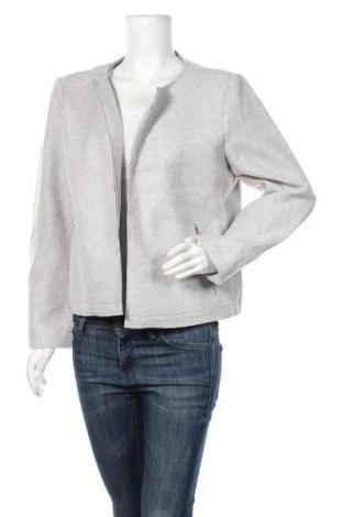Дамско сако Tom Tailor, Размер XXL, Цвят Сив, 91% полиестер, 9% вискоза, Цена 48,30лв.