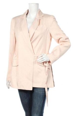 Дамско сако Topshop, Размер M, Цвят Розов, Вискоза, Цена 62,55лв.