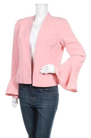 Дамско сако Vila, Размер M, Цвят Розов, 98% полиестер, 2% еластан, Цена 33,12лв.