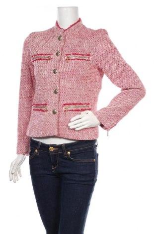Γυναικείο σακάκι Zara, Μέγεθος S, Χρώμα Μπλέ, 71% βαμβάκι, 15%ακρυλικό, 10% πολυεστέρας, 1% άλλα νήματα, Τιμή 21,34€