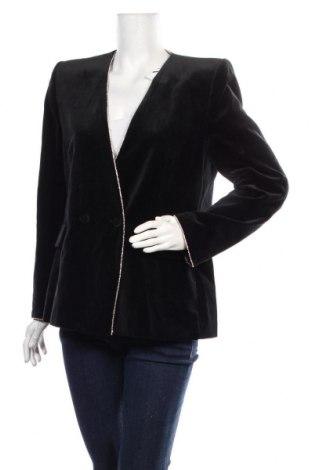 Дамско сако Zara, Размер XL, Цвят Черен, Памук, Цена 48,95лв.
