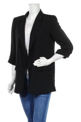 Дамско сако Zara, Размер M, Цвят Черен, Полиестер, Цена 48,95лв.