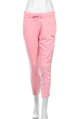 Дамско спортно долнище PUMA, Размер S, Цвят Розов, Цена 34,50лв.