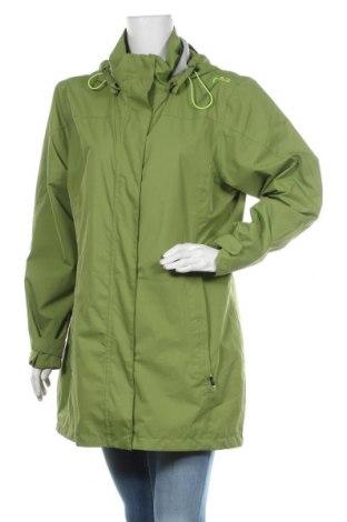 Γυναικείο μπουφάν αθλητικό CMP, Μέγεθος XL, Χρώμα Πράσινο, Πολυεστέρας, Τιμή 22,27€