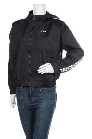 Γυναικείο μπουφάν αθλητικό Fila, Μέγεθος S, Χρώμα Μαύρο, Πολυαμίδη, Τιμή 33,74€