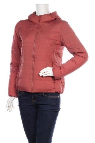 Dámská sportovní bunda  Uniqlo, Velikost S, Barva Růžová, Polyamide, peří, Cena  733,00Kč