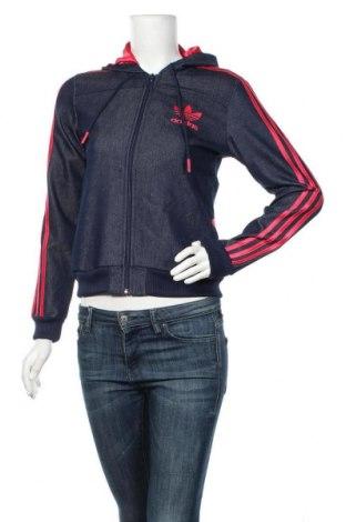 Dámská bunda  Adidas Originals, Velikost S, Barva Modrá, 70% bavlna, 30% polyester, Cena  1036,00Kč
