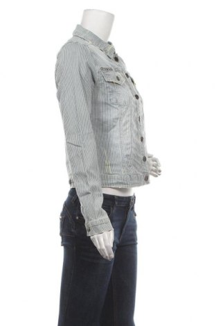 Дамско яке Culture, Размер M, Цвят Син, 98% памук, 2% еластан, Цена 42,57лв.