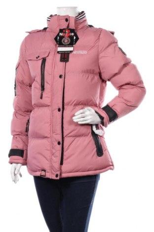 Дамско яке Geographical Norway, Размер S, Цвят Розов, Полиамид, Цена 148,05лв.