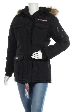 Γυναικείο μπουφάν Geographical Norway, Μέγεθος S, Χρώμα Μαύρο, Πολυαμίδη, Τιμή 82,22€