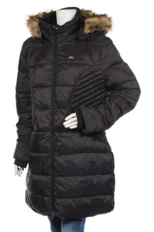 Dámská bunda  Geographical Norway, Velikost XXL, Barva Černá, Polyamide, Cena  3467,00Kč