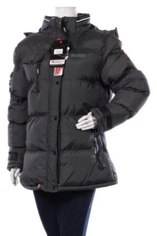 Γυναικείο μπουφάν Geographical Norway, Μέγεθος XL, Χρώμα Γκρί, Πολυαμίδη, Τιμή 127,19€