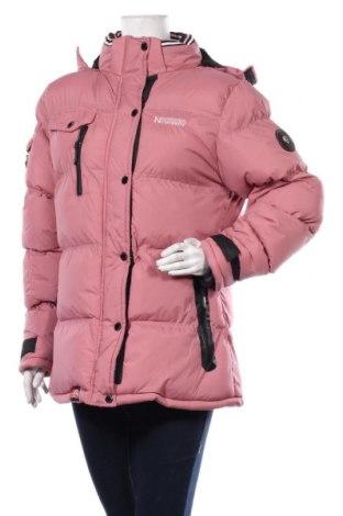 Дамско яке Geographical Norway, Размер L, Цвят Розов, Полиамид, Цена 246,75лв.