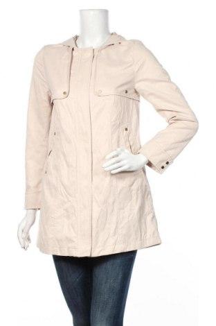 Dámská bunda  H&M, Velikost S, Barva Béžová, 60% polyester, 40% bavlna, Cena  622,00Kč