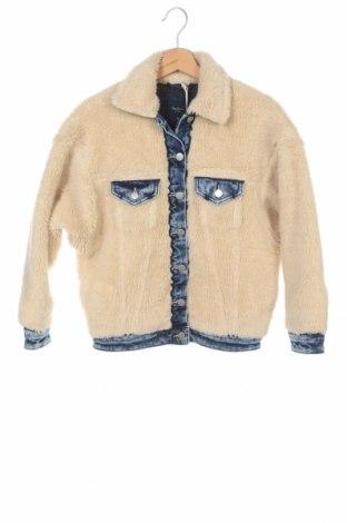 Γυναικείο μπουφάν Pepe Jeans, Μέγεθος XS, Χρώμα Εκρού, Βαμβάκι,ακρυλικό, μαλλί, πολυεστέρας, ελαστάνη, Τιμή 106,28€