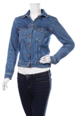 Γυναικείο μπουφάν Perfect Jeans By Gina Tricot, Μέγεθος XS, Χρώμα Μπλέ, 99% βαμβάκι, 1% ελαστάνη, Τιμή 24,19€