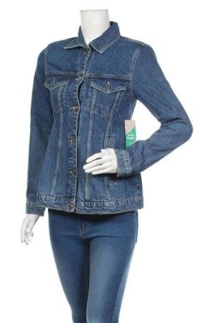 Geacă de femei Perfect Jeans By Gina Tricot, Mărime S, Culoare Albastru, Bumbac, Preț 194,90 Lei