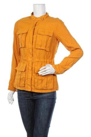 Dámská bunda  Promod, Velikost S, Barva Žlutá, Len, bavlna, Cena  765,00Kč