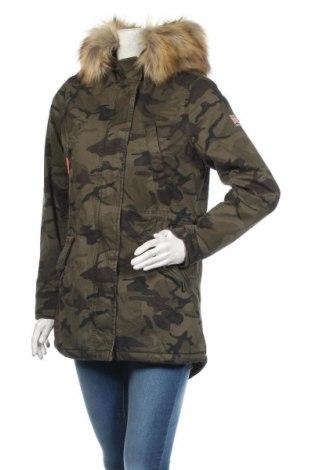 Dámská bunda  Superdry, Velikost S, Barva Zelená, Bavlna, Cena  3141,00Kč