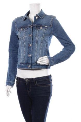 Γυναικείο μπουφάν Tom Tailor, Μέγεθος S, Χρώμα Μπλέ, 98% βαμβάκι, 2% ελαστάνη, Τιμή 28,90€