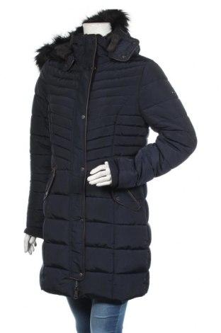 Γυναικείο μπουφάν Tom Tailor, Μέγεθος M, Χρώμα Μπλέ, Πολυεστέρας, Τιμή 73,43€