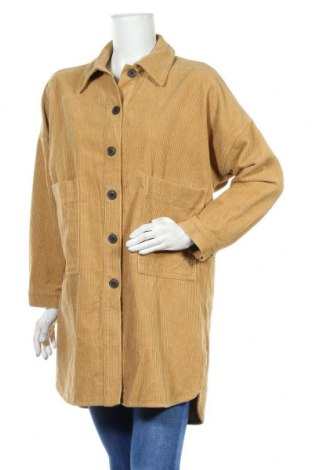 Dámská bunda  Zara Trafaluc, Velikost S, Barva Hnědá, Bavlna, Cena  351,00Kč