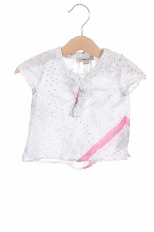 Παιδική μπλούζα Burberry, Μέγεθος 3-6m/ 62-68 εκ., Χρώμα Λευκό, Βαμβάκι, Τιμή 27,32€