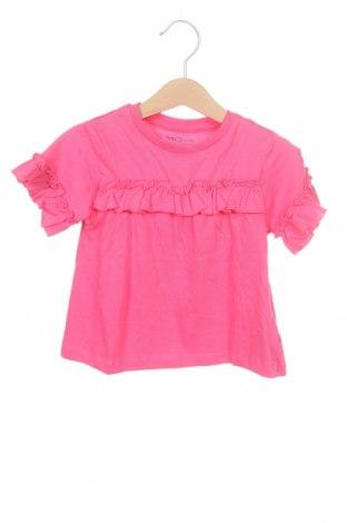 Детска блуза Mo, Размер 18-24m/ 86-98 см, Цвят Розов, Памук, Цена 12,80лв.