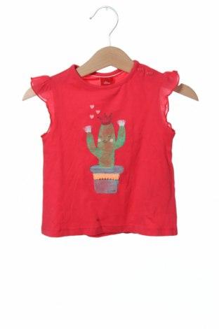 Παιδική μπλούζα S.Oliver, Μέγεθος 6-9m/ 68-74 εκ., Χρώμα Ρόζ , 100% βαμβάκι, Τιμή 7,04€