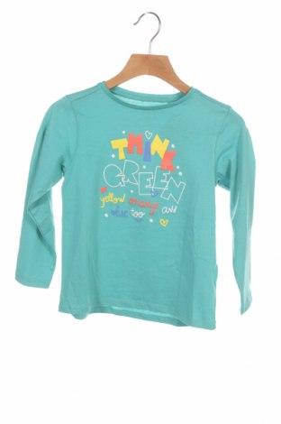 Детска блуза ZY kids, Размер 3-4y/ 104-110 см, Цвят Син, Памук, Цена 9,57лв.