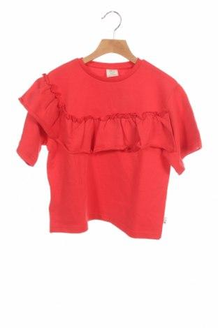 Детска блуза ZY kids, Размер 12-13y/ 158-164 см, Цвят Червен, Памук, Цена 32,00лв.