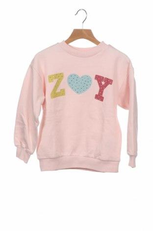 Детска блуза ZY kids, Размер 5-6y/ 116-122 см, Цвят Розов, 85% памук, 15% полиестер, Цена 39,00лв.