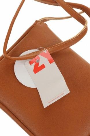 Детска чанта ZY kids, Цвят Кафяв, Еко кожа, Цена 17,15лв.