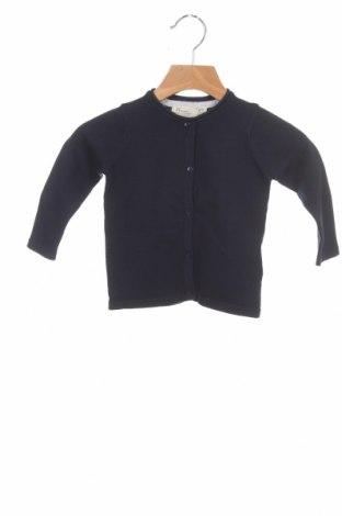 Pulover cu nasturi pentru copii ZY kids, Mărime 6-9m/ 68-74 cm, Culoare Albastru, 70% bumbac, 30% poliamidă, Preț 161,18 Lei