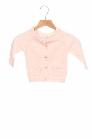 Παιδική ζακέτα ZY kids, Μέγεθος 9-12m/ 74-80 εκ., Χρώμα Ρόζ , Βαμβάκι, Τιμή 14,65€