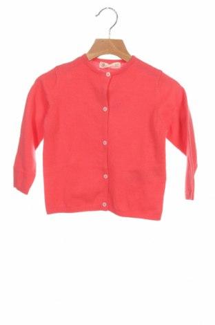 Pulover cu nasturi pentru copii ZY kids, Mărime 2-3y/ 98-104 cm, Culoare Roșu, 70% bumbac, 30% poliamidă, Preț 138,16 Lei