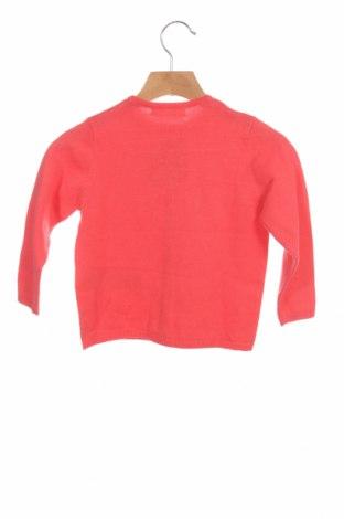 Pulover cu nasturi pentru copii ZY kids, Mărime 2-3y/ 98-104 cm, Culoare Roșu, 70% bumbac, 30% poliamidă, Preț 103,62 Lei