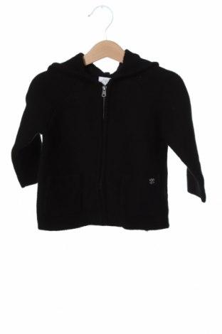 Pulover cu nasturi pentru copii Zara, Mărime 12-18m/ 80-86 cm, Culoare Negru, 100% bumbac, Preț 128,29 Lei