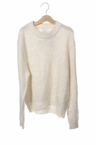 Παιδικό πουλόβερ Zara, Μέγεθος 12-13y/ 158-164 εκ., Χρώμα Εκρού, 57% πολυεστέρας, 40%ακρυλικό, 3% ελαστάνη, Τιμή 10,76€
