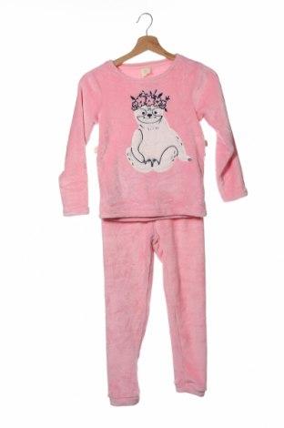 Παιδική πιτζάμα ZY kids, Μέγεθος 7-8y/ 128-134 εκ., Χρώμα Ρόζ , Πολυεστέρας, Τιμή 15,91€