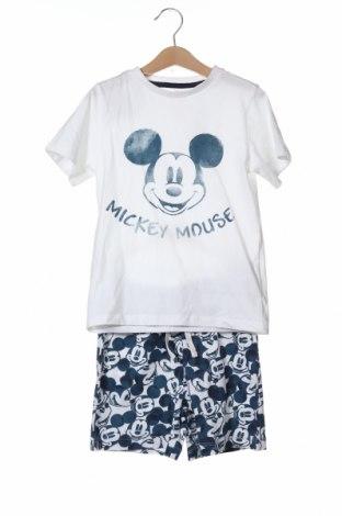 Παιδική πιτζάμα ZY kids, Μέγεθος 4-5y/ 110-116 εκ., Χρώμα Λευκό, Βαμβάκι, Τιμή 15,91€