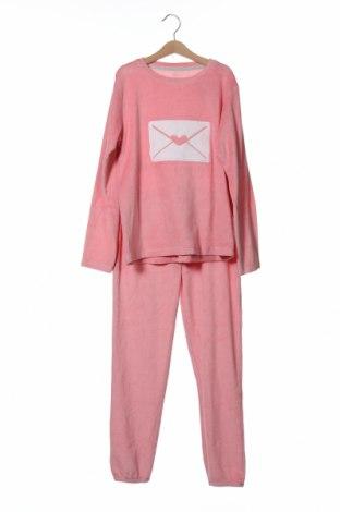 Παιδική πιτζάμα ZY kids, Μέγεθος 8-9y/ 134-140 εκ., Χρώμα Ρόζ , 73% βαμβάκι, 27% πολυεστέρας, Τιμή 15,91€