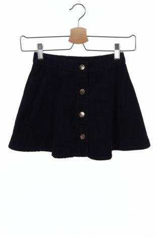 Детска пола H&M, Размер 4-5y/ 110-116 см, Цвят Син, 98% памук, 2% еластан, Цена 16,50лв.