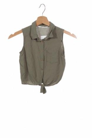 Cămașă pentru copii H&M, Mărime 8-9y/ 134-140 cm, Culoare Verde, Preț 41,94 Lei