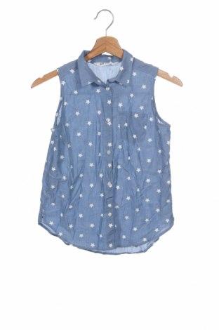 Cămașă pentru copii H&M, Mărime 10-11y/ 146-152 cm, Culoare Albastru, Bumbac, Preț 44,41 Lei