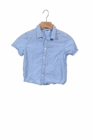 Cămașă pentru copii H&M, Mărime 2-3y/ 98-104 cm, Culoare Albastru, Bumbac, Preț 46,88 Lei