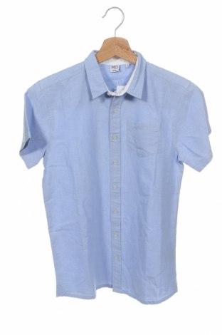 Παιδικό πουκάμισο Mo, Μέγεθος 13-14y/ 164-168 εκ., Χρώμα Μπλέ, Βαμβάκι, Τιμή 11,06€