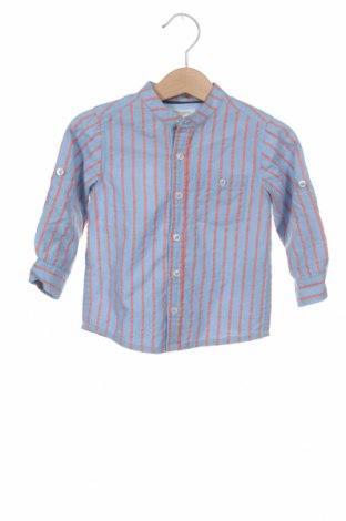 Детска риза ZY kids, Размер 6-9m/ 68-74 см, Цвят Син, Памук, Цена 24,57лв.